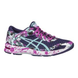 ASICS Women's Gel Noosa Tri 11 Running Shoes - Purple/Pink Pattern/Blue