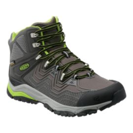 Keen Men's Aphlex Mid Waterproof Hiking Boots - Black/Gargoyle