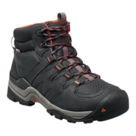 Keen Men's Gypsum II Mid Waterproof Hiking Boots - Black