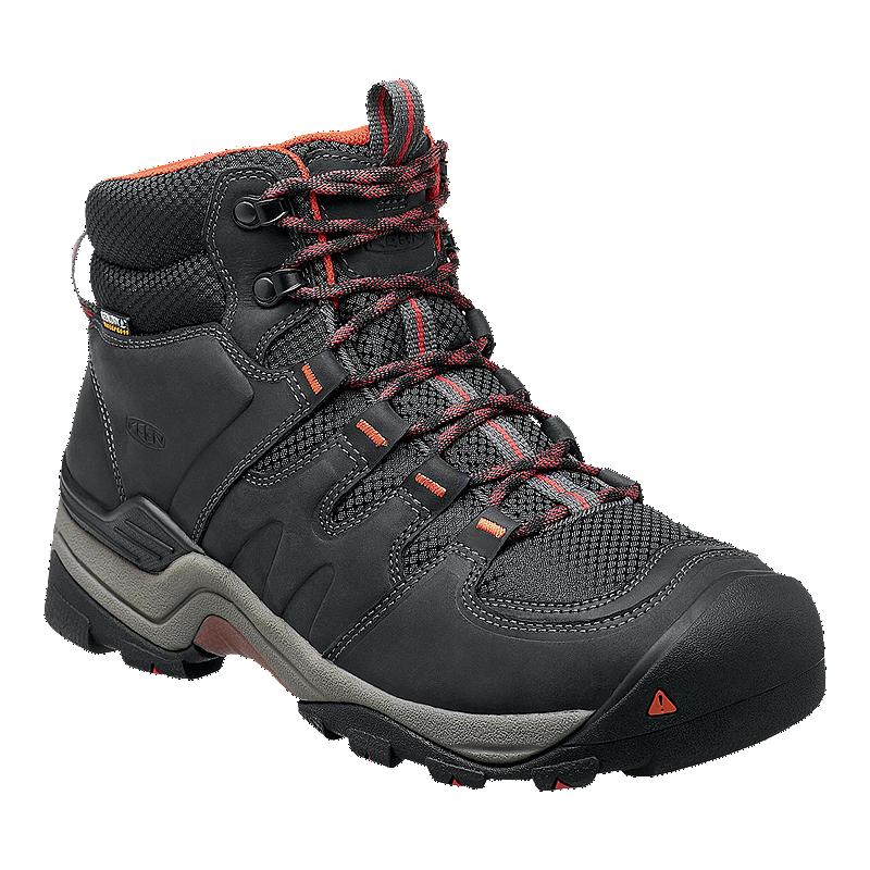 1cd6dca193d3 Keen Men s Gypsum II Mid Waterproof Hiking Boots - Black