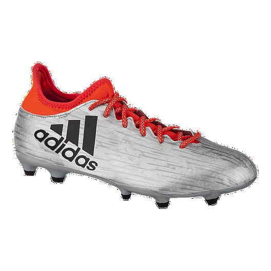 7fd6471d313 adidas Men s X 16.3 FG Outdoor Soccer Cleats - Silver Orange