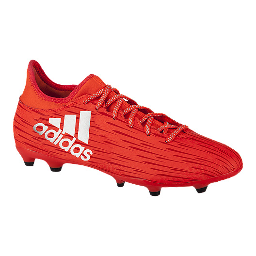 2a28aebeb8d adidas Men s X 16.3 FG Outdoor Soccer Cleats - Red White