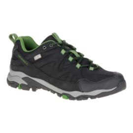 Merrell Men's Tahr Bolt Waterproof Hiking Boots - Black/Green
