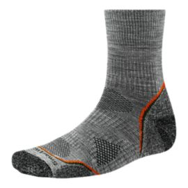 SmartWool PhD&reg&#x3b; Outdoor Light  Men's Mid Crew Socks