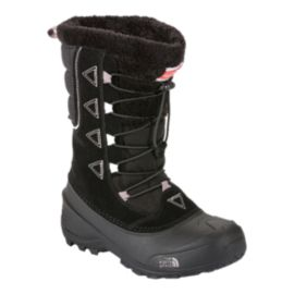 The North Face Girls' Shellista II Winter Boots - Black/Quail Grey