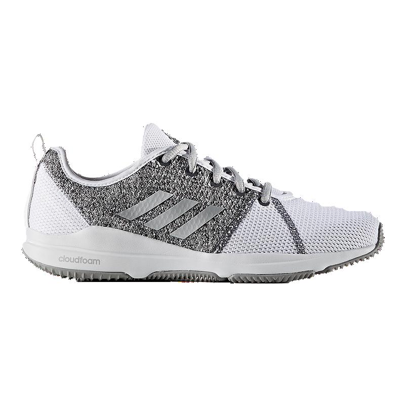 adidas Women s Arianna SC Training Shoes - White Silver  0dfd4db8e