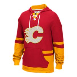 Calgary Flames CCM Pull Over Hoodie