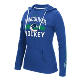 Vancouver Canucks Banner Arch Crewdie Women's Hoodie