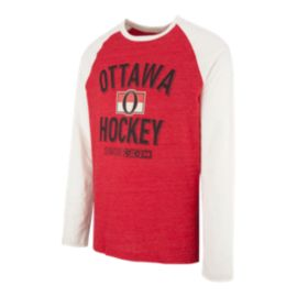 Ottawa Senators CCM Long Sleeve Crew Top