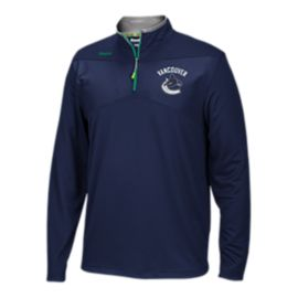 Vancouver Canucks centre Ice 1/4 Zip Jacket