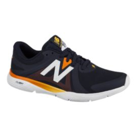New Balance Men's 713 D Training Shoes - Blue/Orange