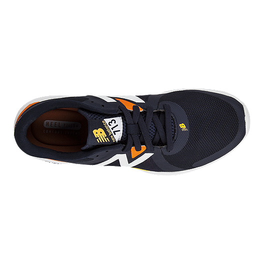 1ce30987ff1 New Balance Men s 713 D Training Shoes - Blue Orange