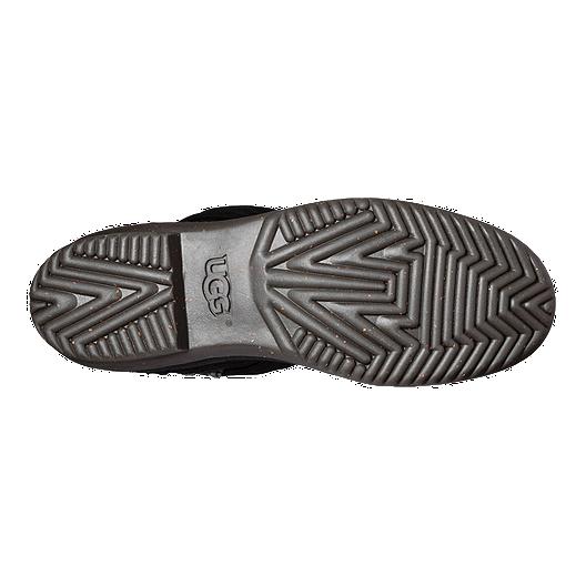 9a631381596 UGG Women's Elsa Deco Quilt Winter Boots - Black | Sport Chek