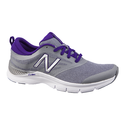 e0da2f4c845bf New Balance Women's 713 B Training Shoes - Grey/Purple | Sport Chek