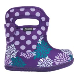 Bogs Baby Classic Waterproof Girls' Toddler Winter Boots