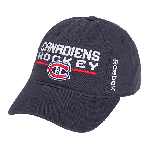 outlet store 979bc b1289 store montreal canadiens locker room adjustable slouch cap navy 49e89 e384d