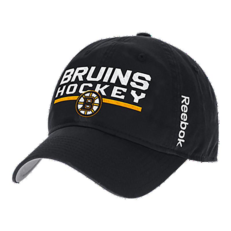 Boston Bruins Locker Room Adjustable Slouch Cap