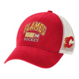 Calgary Flames CCM Practice Meshback Structured Adjustable Cap