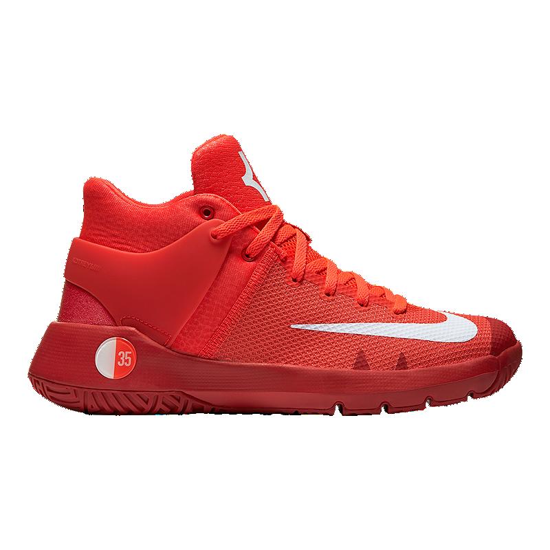 d0c9cb494ab8 Nike Kids  KD Trey 5 IV Grade School Basketball Shoes - Red White ...