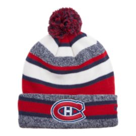 Montreal Canadiens CCM Fleece Pom Knit Beanie