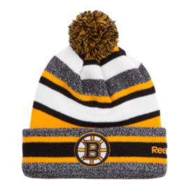 Boston Bruins CCM Fleece Pom Knit Beanie