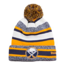Buffalo Sabres CCM Fleece Pom Knit Beanie