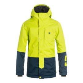 DC Boys' Defy Insulated Winter Jacket