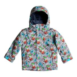 Quiksilver Toddler Boys' 4-7 Mission Insulated Winter Jacket