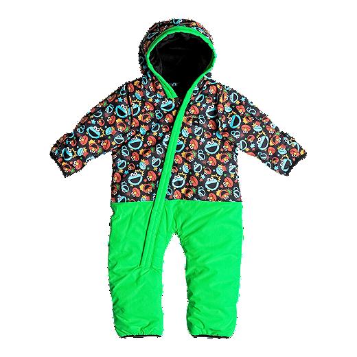 14440c096 Quiksilver Baby Boys' Rookie Snowsuit - NKL6 SESAME STREET COOKIE