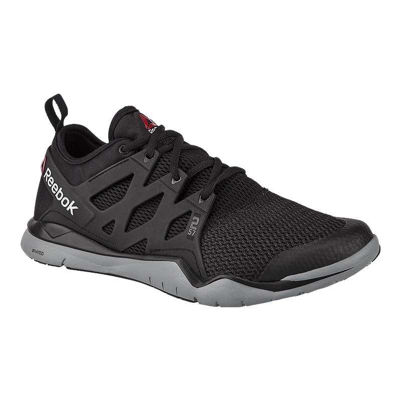 Reebok Men s ZCut TR 3.0 Training Shoes - Black Grey White d38318fb9