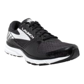 Brooks Men's Launch 3 Running Shoes - Black/White
