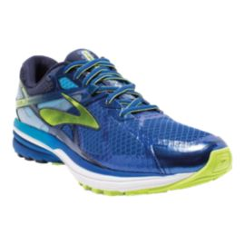 Brooks Men's Ravenna 7 Running Shoes - Blue/Yellow
