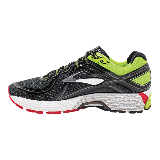 933a967093064 Brooks Men s Adrenaline GTS 16 2E Wide Width Running Shoes - Black Green Red.  (0). View Description