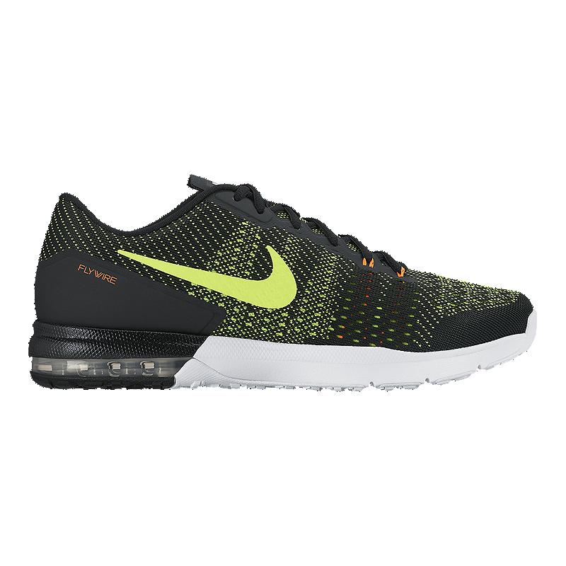 6982dacfa Nike Men s Air Max Typha TR 2 Training Shoes - Black Volt Green ...
