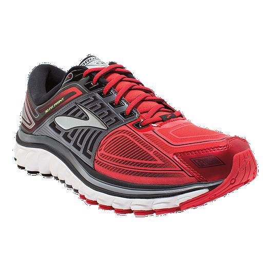 2af946c8ab4 Brooks Men s Glycerin 13 Running Shoes - Grey Red