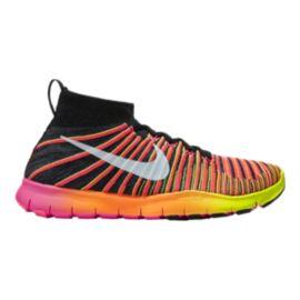 4474bb7b2482 Nike Men s Free Force FlyKnit Unlimited Training Shoes - Orange Pink ...