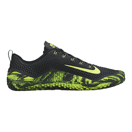 344879ceb4ff Nike Men s Free Trainer 1.0 Fast Training Shoes - Green Black ...
