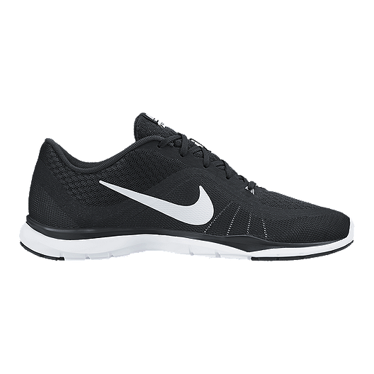 official photos 8e244 98b0b Nike Women s Flex TR 6 Wide Width Training Shoes - Black White   Sport Chek