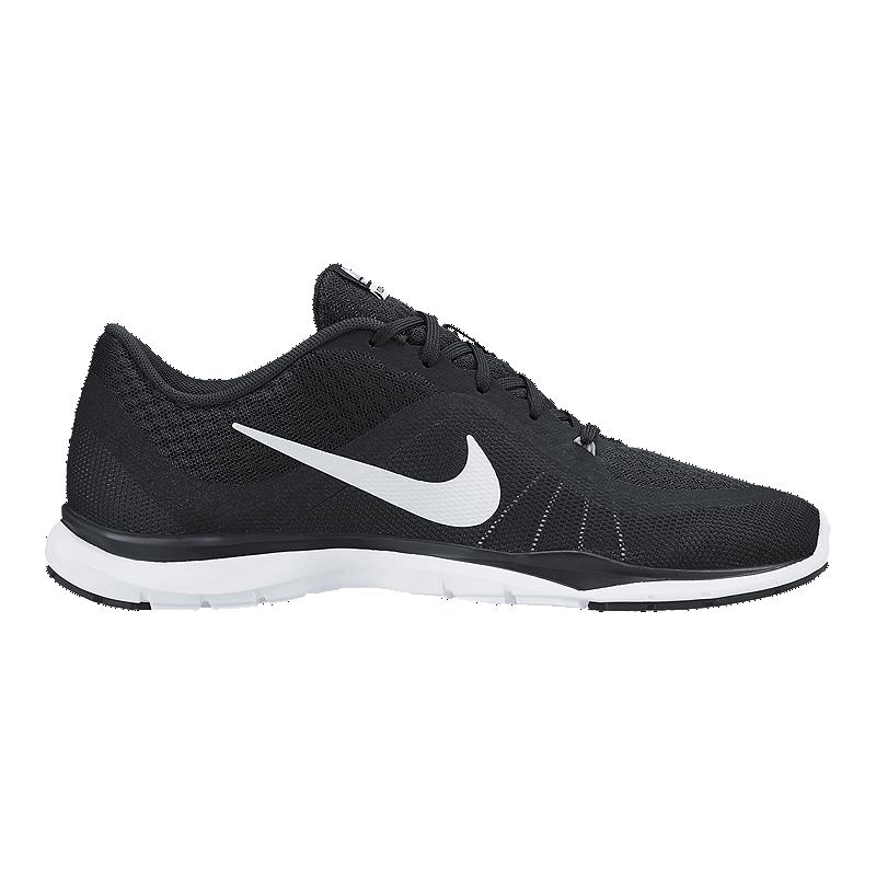 d20de6e2f6bb1 Nike Women s Flex TR 6 Wide Width Training Shoes - Black White ...