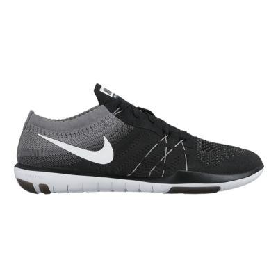 nike free tr flyknit womens cross training shoes black