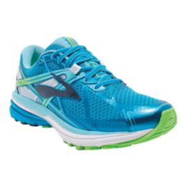 Brooks Women's Ravenna 7 Running Shoes - Blue/White/Green