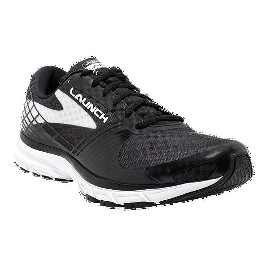 36aa6562222 Brooks Women s Launch 3 Running Shoes - Black White