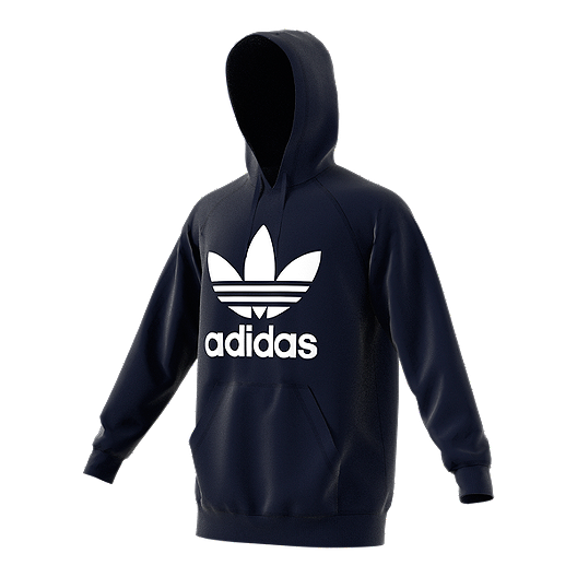 adidas Originals Trefoil Men s Pull Over Hoodie  9429f0d480f