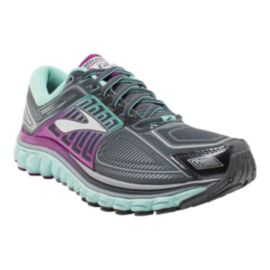 Brooks Women's Glycerin 13 Running Shoes - Grey/Purple/Blue