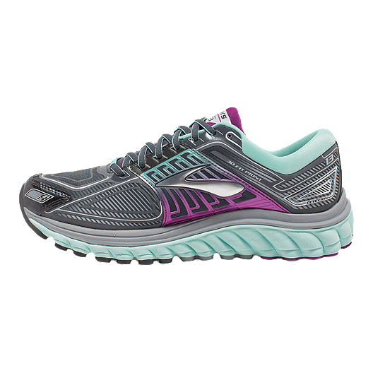 aecd2865782 Brooks Women s Glycerin 13 Running Shoes - Grey Purple Blue. (0). View  Description