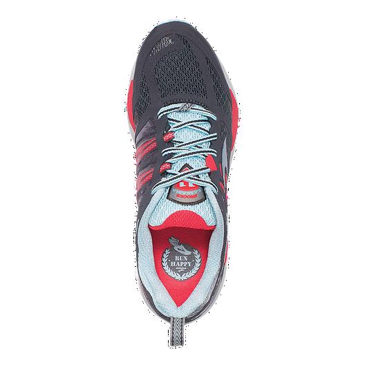 1d6f7c3cd6c Brooks Women s Cascadia 11 Trail Running Shoes - Dark Grey Blue Red. (1).  View Description