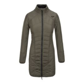 Fox Sequence Women's Insulated Long Jacket
