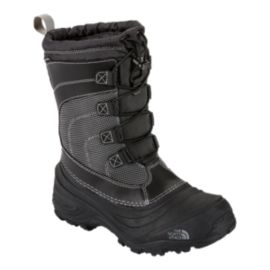 The North Face Kids' Alpenglow IV Winter Boots - Black