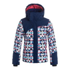 Roxy Girls' Flicker Insulated Winter Jacket