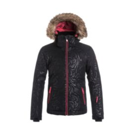 Roxy Girls' American Pie Insulated Solid Jacket